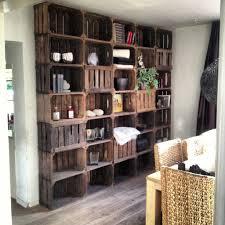 wooden crate storage bijhetstrand for the home pinterest