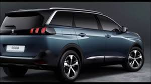 latest peugeot cars 2017 all new peugeot 5008 7 seater suv car youtube