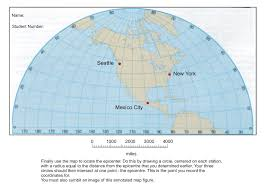 Seattle On The Map by Earth Sciences Archive November 28 2016 Chegg Com