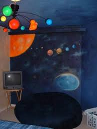 Solar System Kids Room  Solar System Night Light Kids - Hanging solar system for kids room