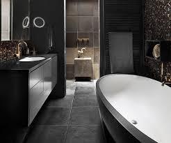 black bathroom design ideas great black bathroom tiles ideas for home design colours tile floor