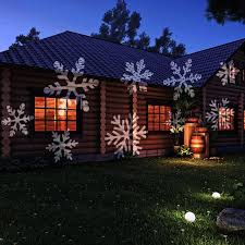 led projection light crazyfire white snowflakes project source led