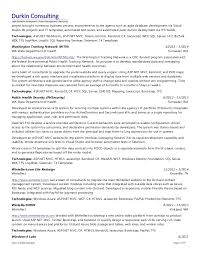 Sample Resume Net Developer by Chris Durkin Resume Expert Net Consultant 18 Years Experience
