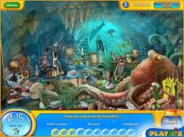 Aquascapes Game Play Online Fishdom H2o Hidden Odyssey Hidden Object Games