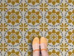 retro vinyl floor tile range by zazous retro to go