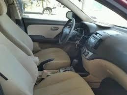 2010 hyundai elantra interior salvage vehicle title 2010 hyundai elantra sedan 4d 2 0l 4 for