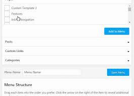 wp floating menu pro one page navigator sticky menu for