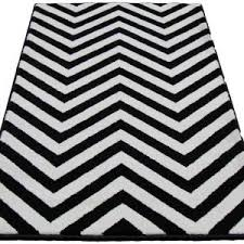 fascinating black and white chevron rug 8 10 images inspiration