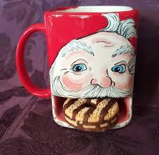 santas cookie mug cookies for santa mug child christmas