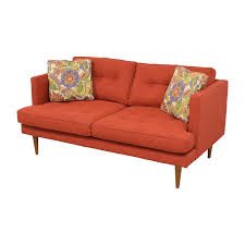 Pennie Sofa 32 Off West Elm West Elm Mid Century Heathered Weave Sofa Sofas