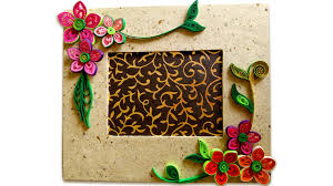 how to make beautiful quilling photo frame easy craft ideas how to make beautiful quilling photo frame easy craft ideas youtube