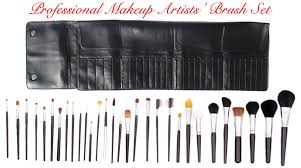 makeup kits for makeup artists professional makeup artist s 30 cosmetic makeup brush kit