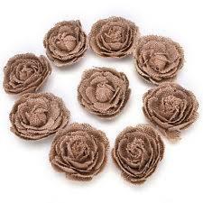 burlap flowers burlap flowers ebay