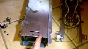 replacing heating element on kenmore he2 dryer youtube