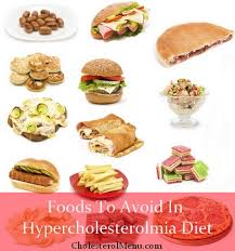 diet plan to treat hypercholesterolemia foods to avoid and to eat