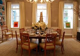 Luxury Dining Room Set Providing Luxury Classic Style On Spacious Dining Room Design