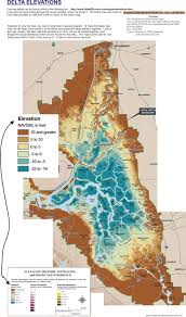 San Francisco Elevation Map Elevation Maps Seismic Maps And Subsidence Maps Of The Sacramento