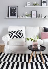 Scandinavian Livingroom 29 Awesome Ikea Ektorp Sofa Ideas For Your Interiors Digsdigs