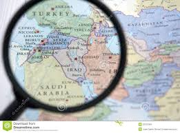 A Map Of The Middle East by Middle East Map Royalty Free Stock Photo Image 3050685