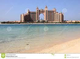 hotel atlantis in dubai royalty free stock photo image 8333815