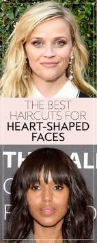 soft under cut hair the best haircuts for heart shaped faces instyle com