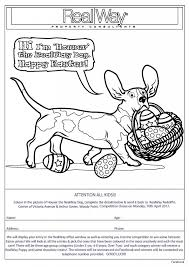 2017 easter colouring competition