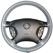 corvette steering wheel cover amazon com leather steering wheel cover 14 1 2 x 4 1 8 01 black