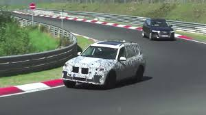 upcoming 2018 bmw x7 spied testing on nurburgring the drive