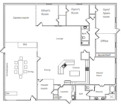 Barn Homes Floor Plans Perfect For Our Shed House Barndominium Floor Plans Pole Barn