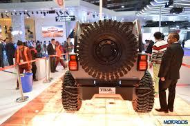 mahindra thar crde 4x4 ac modified 2016 auto expo this modified mahindra thar looks like an ill