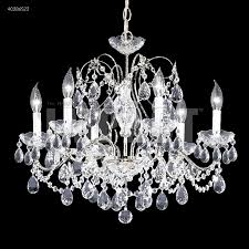 Moder Chandelier R Moder 40286 Regalia 6 Light Crystal Chandelier