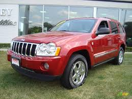 jeep grand 2006 limited 2006 inferno pearl jeep grand limited 4x4