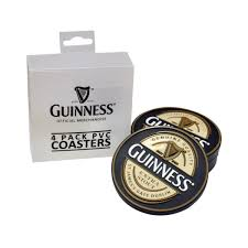 Drink Coasters by Guinness Guinness Label Pvc Coasters From Guinness Webstore