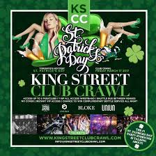 toronto st patricks day king street club crawl dj mix n match