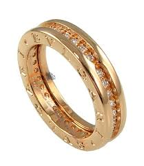 bvlgari diamonds rings images Bulgari b zero1 rose gold single band diamond ring an854461 jpg