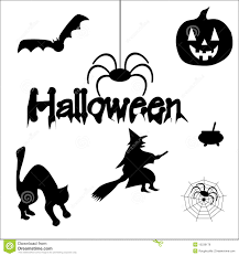 halloween silhouettes royalty free stock images image 15236179