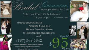 bridal makeup classes bridal quinceanera makeup certification class 2014 dermagem