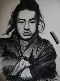 one of the last samurai sketch with charcoal by musiriam on