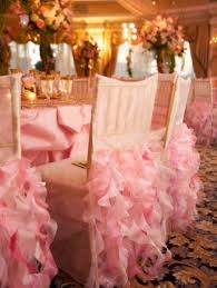 wedding chair covers pink ruffles wedding chair covers by wildflower linen dress my