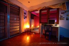 my bright pink house in chiang mai thailand greg goodman my office downstairs bedroom during a new years eve 2013 party