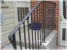 Iron Handrails For Stairs Best Wrought Iron Railings With Wrought Iron Railing Residential