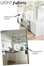 black kitchen light fixtures gold vs black kitchen fixtures defined designs