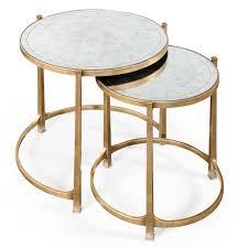 jonathan charles artanis nesting tables stunning set of side