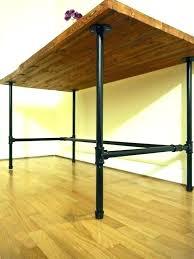 Diy Desk Pipe Pipe Leg Desk Tandemdesigns Co