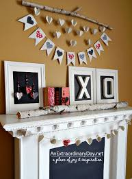 Valentine S Day Wall Decor Diy by 8 Low Cost Diy Valentine U0027s Day Decorating Ideas An Extraordinary Day
