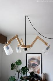 Modern Ceiling Lights by Diy Modern Ceiling Light Dr Livinghome Decor