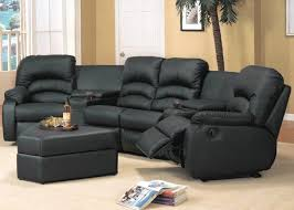 great sectional sofas with recliners leather sectional sofas with