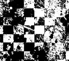 Black And White Checkered Cool Punk Backgrounds Black And White Pattern Wallpaper