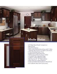 mocha kitchen cabinets mocha shaker viviano inc