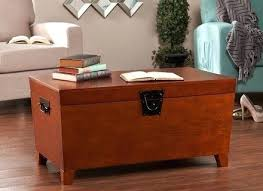 Trunk Style Coffee Table Trunk Style Coffee Tables Room Decor With Brown Sofa And Rectangle